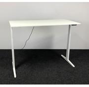 Ahrend Ahrend Zit-Sta Bureau | Wit Frame - Wit Bureaublad  160 x 80 cm