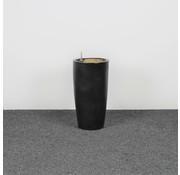 Lamers Kantoormeubelen Stenen Plantenbak Antraciet 68 x 36 cm