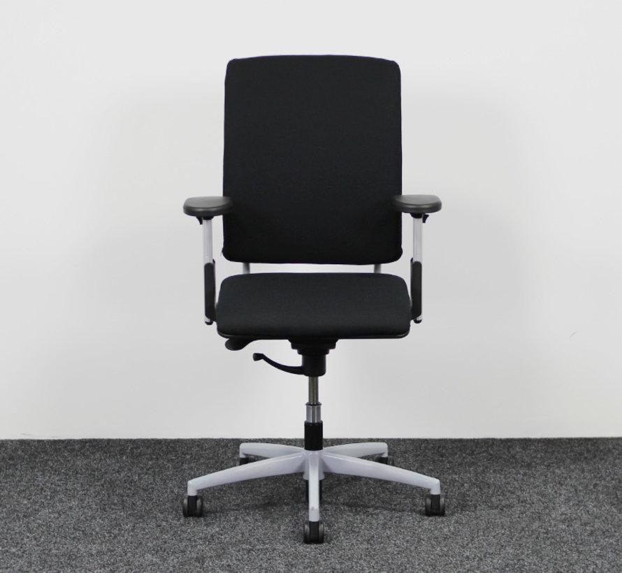 Dauphin Extender Bureaustoel | Nieuwe Zwarte Stof