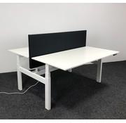 Ahrend Ahrend Zit-Sta Duo Bureau 160 x 80 cm - Inclusief Akoestisch Bureauscherm