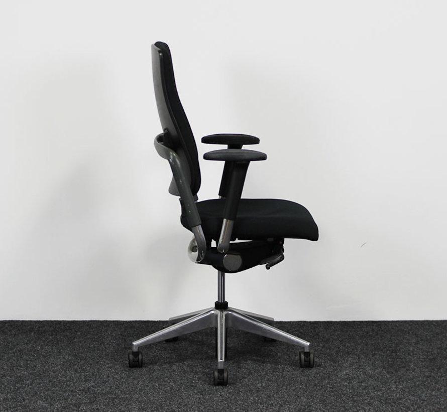 Grahl Xenium Bureaustoel Zwart - Nieuwe Bekleding