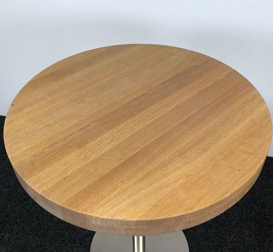 Pedrali Inox 4430 Statafel Hout Ø 94,5 cm