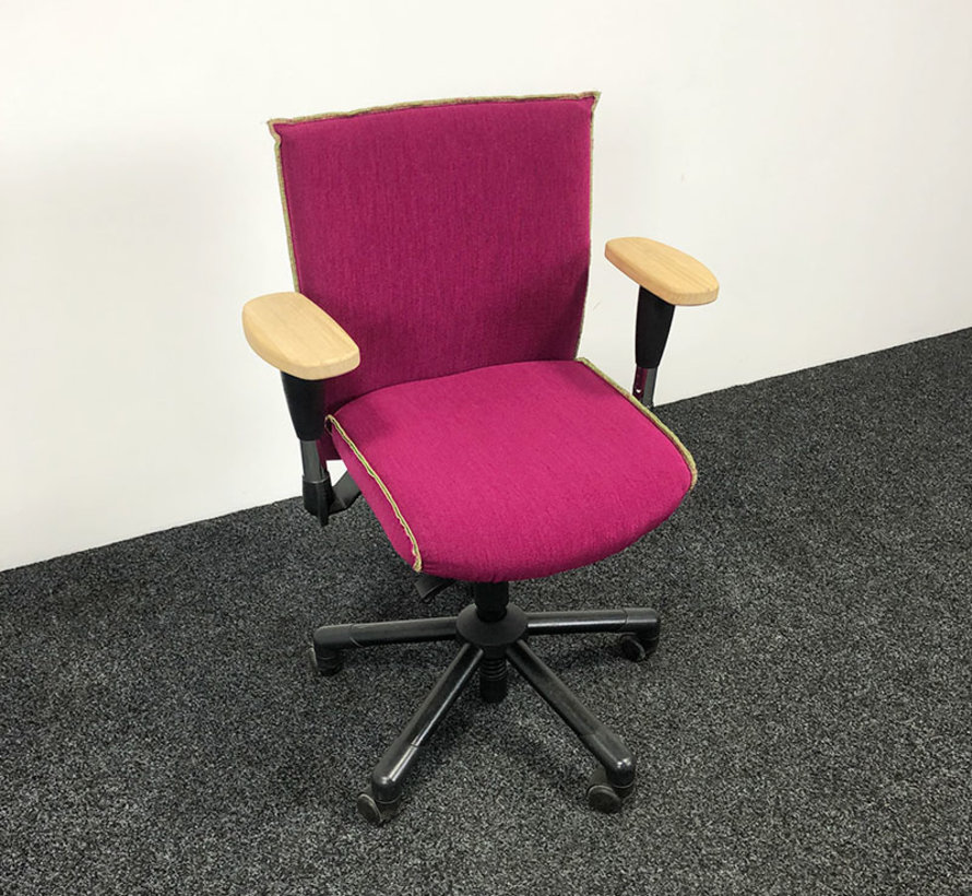 Interstuhl Weder Ataros Bureaustoel Roze
