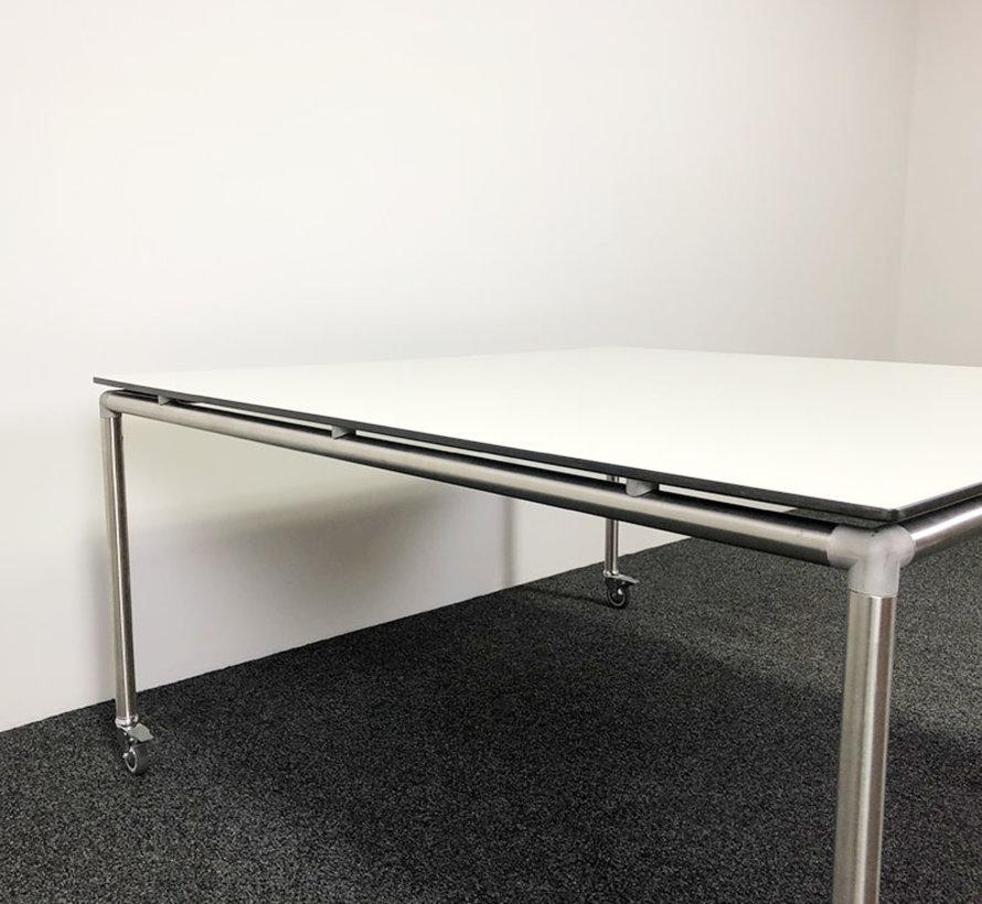Ahrend Move It Tafel | 150 x 150 cm - Verrijdbaar