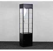 Helioz Helioz Vitrinekast Zwart 197 x 50 x 40 cm
