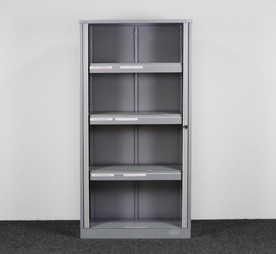 Bisley Roldeurkast Grijs / Crème | 197 x 100 x 47 cm