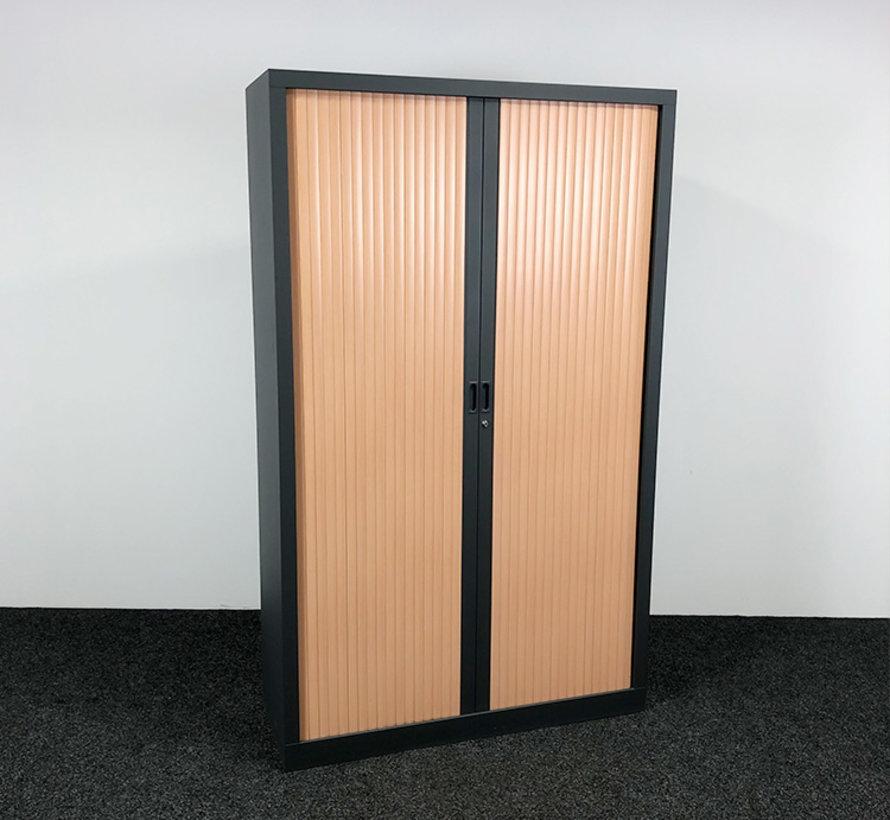 Roldeurkast Antraciet   198 x 120 x 43 cm