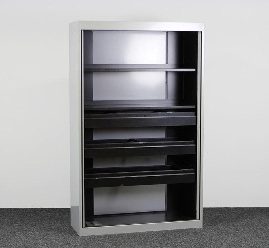 Emmein Roldeurkast Aluminium   195 x 120 x 42 cm