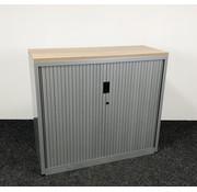 Aspa Aspa Roldeurkast Grijs | 106 x 120 x 47 cm - Nieuw Blad