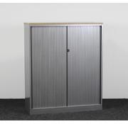 Ahrend Ahrend Roldeurkast Aluminium   142 x 120 x 45 cm - Nieuw Blad