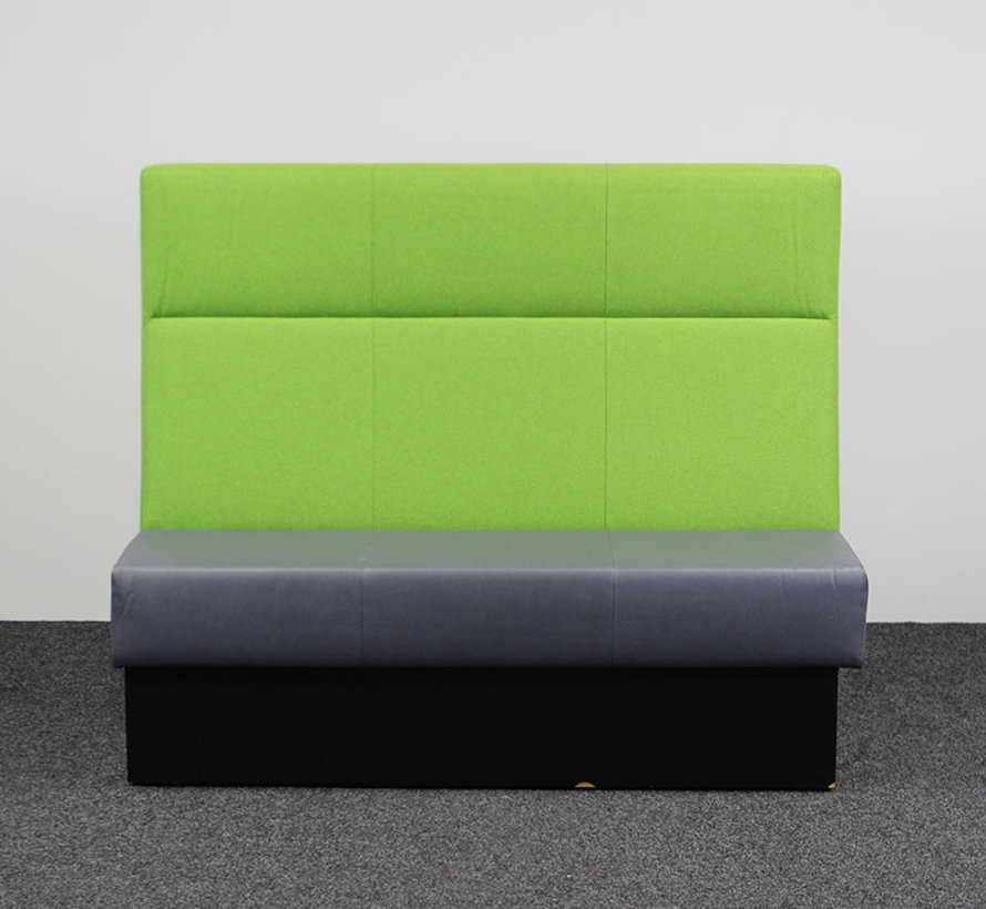 Treinbank Dubbel - Lime Groen