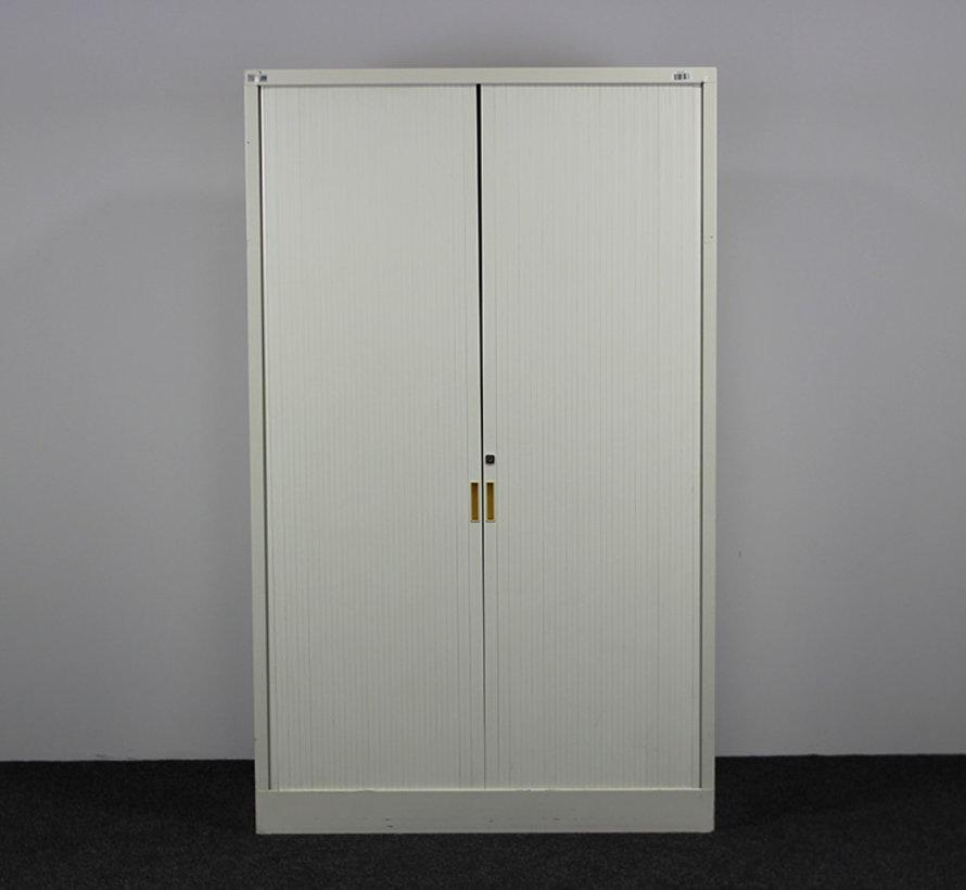 Roldeurkast Crème | 198 x 120 x 45 cm