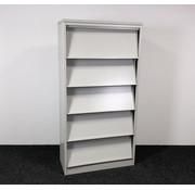 Lamers Kantoormeubelen Folderkast A4 Grijs | 195 x 100 x 45 cm