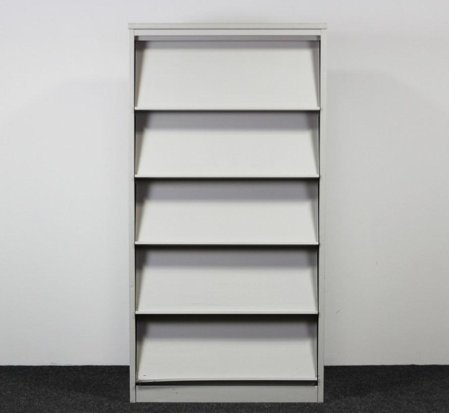 Folderkast A4 Grijs   195 x 100 x 45 cm