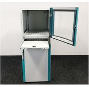 Lamers Kantoormeubelen Industriële Computerkast Grijs | 160 x 60 x 67 cm