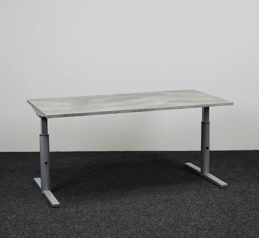 Gispen TM Knopbureau - 160 x 80 cm - Blad naar keuze