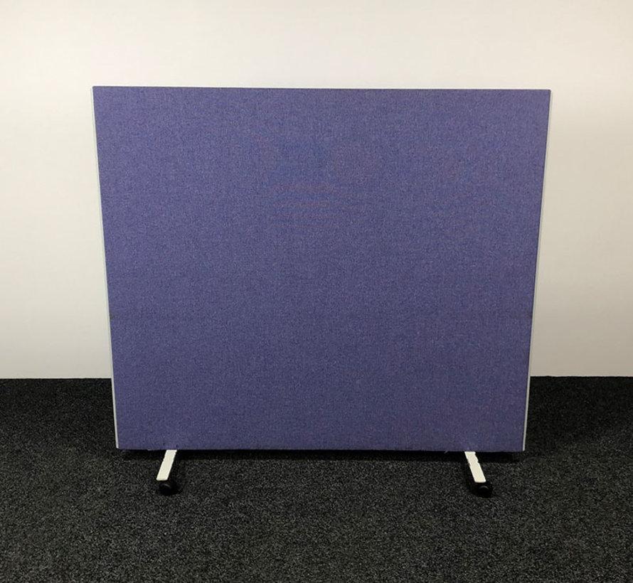 Verrijdbaar Tussenschot Blauw - 185 cm