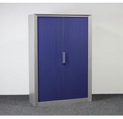 Kembo Kembo Roldeurkast Grijs / Blauw - 195 x 132 x 47 cm