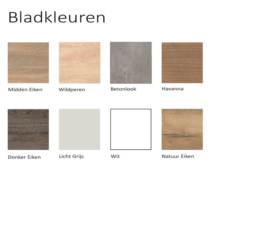 Ladeblok Budget 2 | 53.5 x 42 x 58 cm - Diverse Kleurstellingen