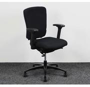 KÖHL Kohl Multiplo Bureaustoel Zwart   Nieuw Gestoffeerd