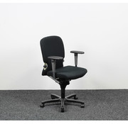 Haworth Haworth Comforto 77 Bureaustoel - Nieuwe Zwarte Bekleding
