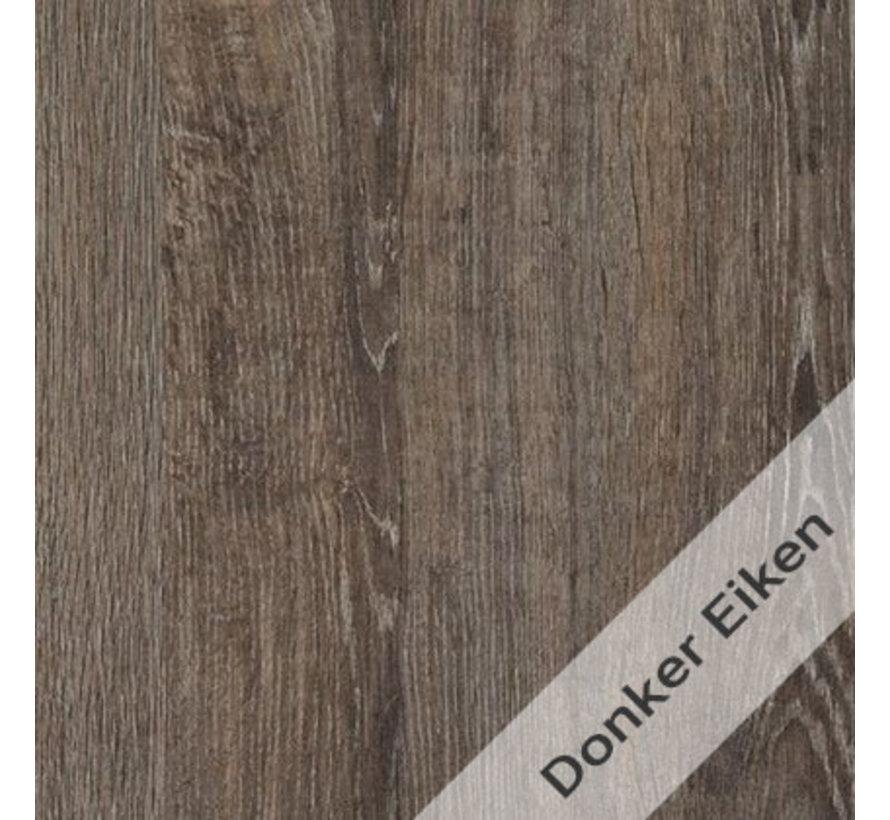 Kantinetafel Basic Line - Donker Eiken Blad