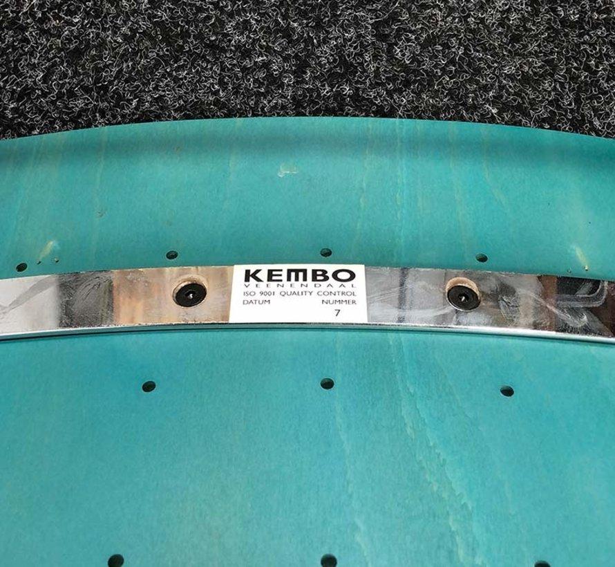 Stapelbare Kembo Stoel Turquoise