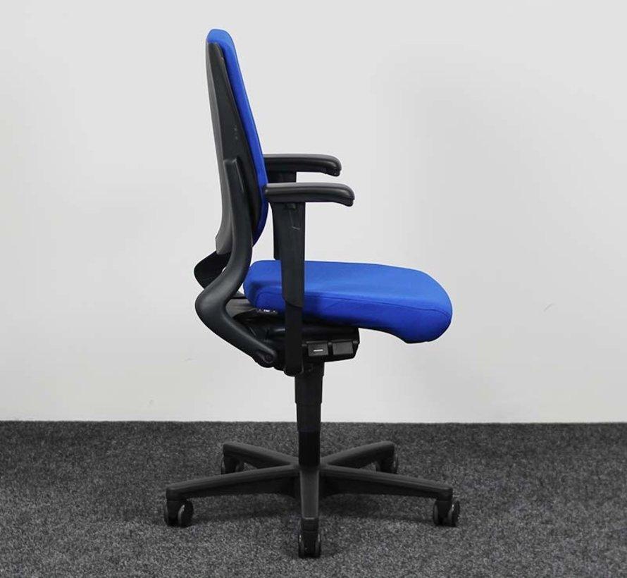 Ahrend 230 Bureaustoel Blauw | Nieuw Gestoffeerd - Hoge Rug