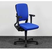 Ahrend Ahrend 230 Bureaustoel Blauw | Nieuw Gestoffeerd - Hoge Rug