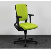 Ahrend Ahrend 230 Bureaustoel Lime Groen | Nieuw Gestoffeerd - Hoge Rug