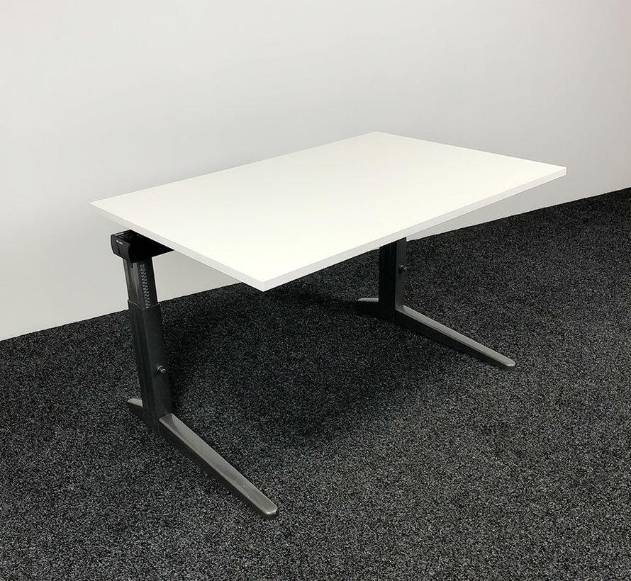 Ahrend Essa Knop Verstelbaar Bureau | 140 x 80 cm | Nieuw Wit Blad