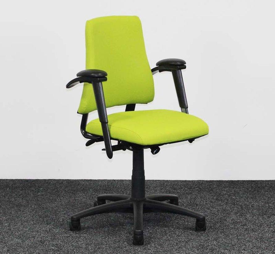 BMA Axia Bureaustoel Lime Groen | Nieuw Gestoffeerd - Hoge Rug