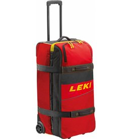 Leki Travel Trolley Red