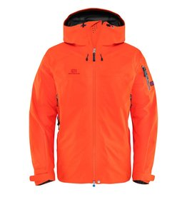 Elevenate Men's Bec de Rosses Ski Jacket Fire Orange