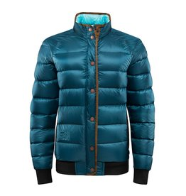 Elevenate Locals Down Jacket Petrol Blue