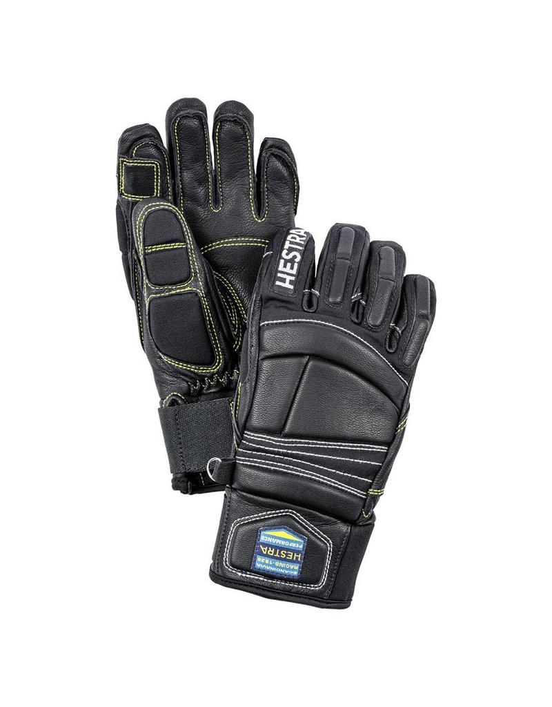 Hestra Impact Racing Jr Gloves  Black/Yellow