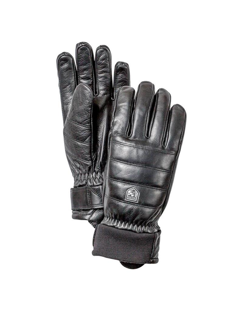 Hestra Alpine Leather Primaloft Handschoenen Black