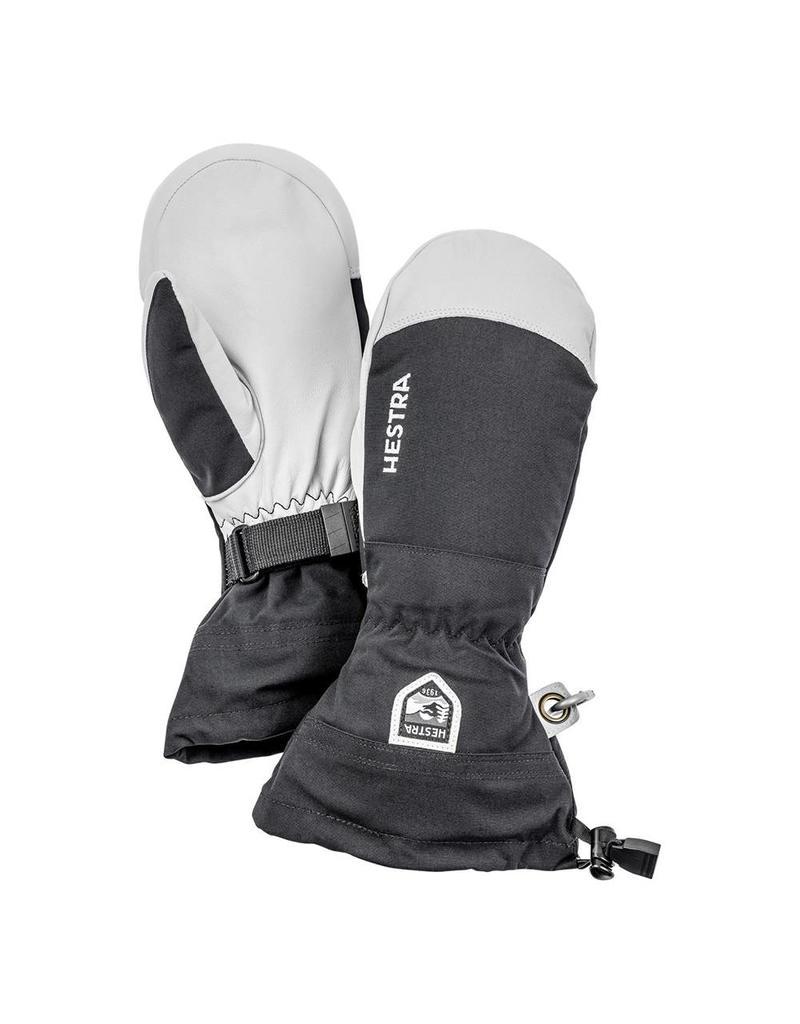 Hestra Army Leather Heli Ski Mittens Black