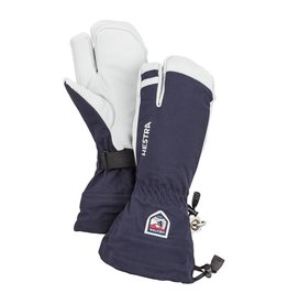 Hestra Army Leather Heli Ski 3-finger Gloves Navy