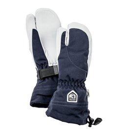 Hestra Heli Ski 3-vinger Dames Handschoenen Donker Blauw/Wit