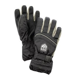 Hestra Primaloft Jr 5-finger Gloves Black/Earth