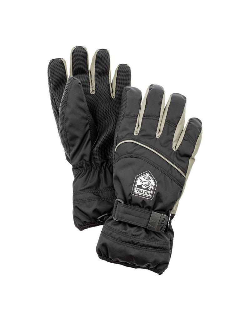 Hestra Primaloft Jr 5 -finger Gloves Black/Earth