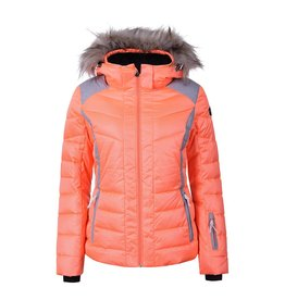 Icepeak Blouson de Ski Femme Cindy Orange