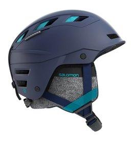 Salomon QST Charge W Helmet Wisteria Navy Blue