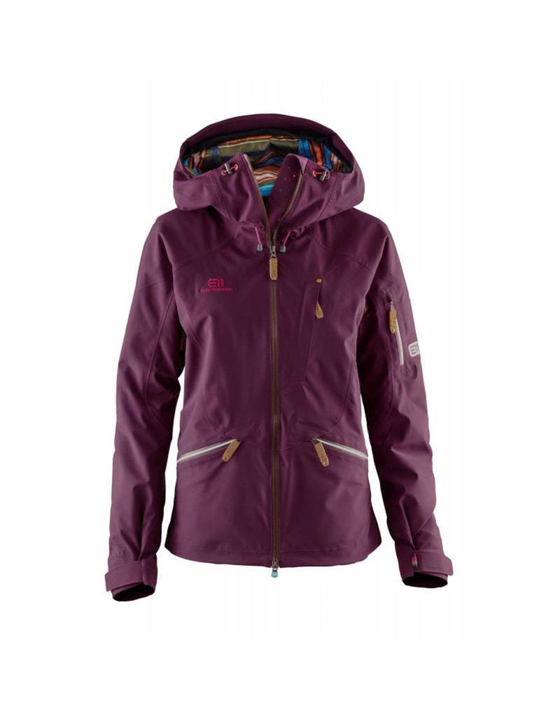 Elevenate Zermatt Dames Ski Jas Aubergine