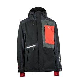 Rehall Manteau de Ski Tommy Noir