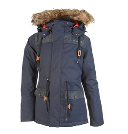 Rehall Manteau de Ski Sophia Bleu Denim
