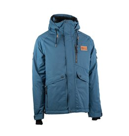 Rehall Manteau de Ski Jenson Steel Bleu