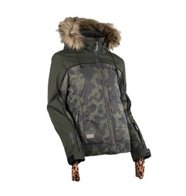 Rehall Ski Jacket Isabella Camo Olive