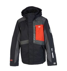 Rehall Manteau de Ski Archie Wax Noir